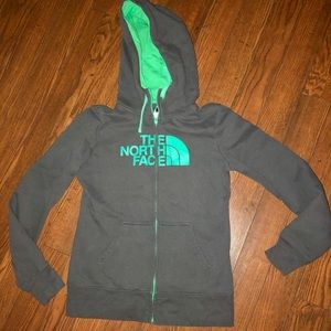 North Face Zippered Hoodie